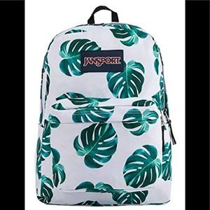 brand quality best value shop for official ‼️NWT Jansport White Monstera Superbreak ‼️ NWT